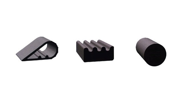 Extruded Silicone Rubber Shapes