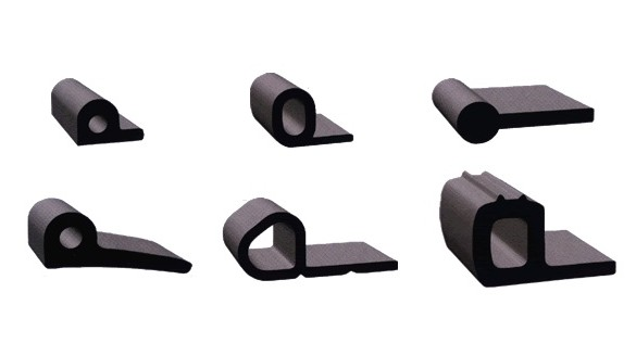 Extruded Rubber P Sections