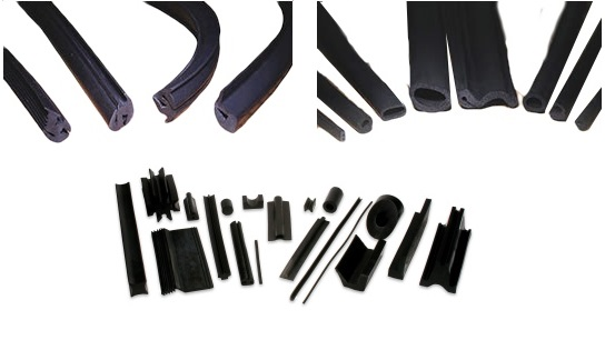 Extruded Rubber Channels and Profiles