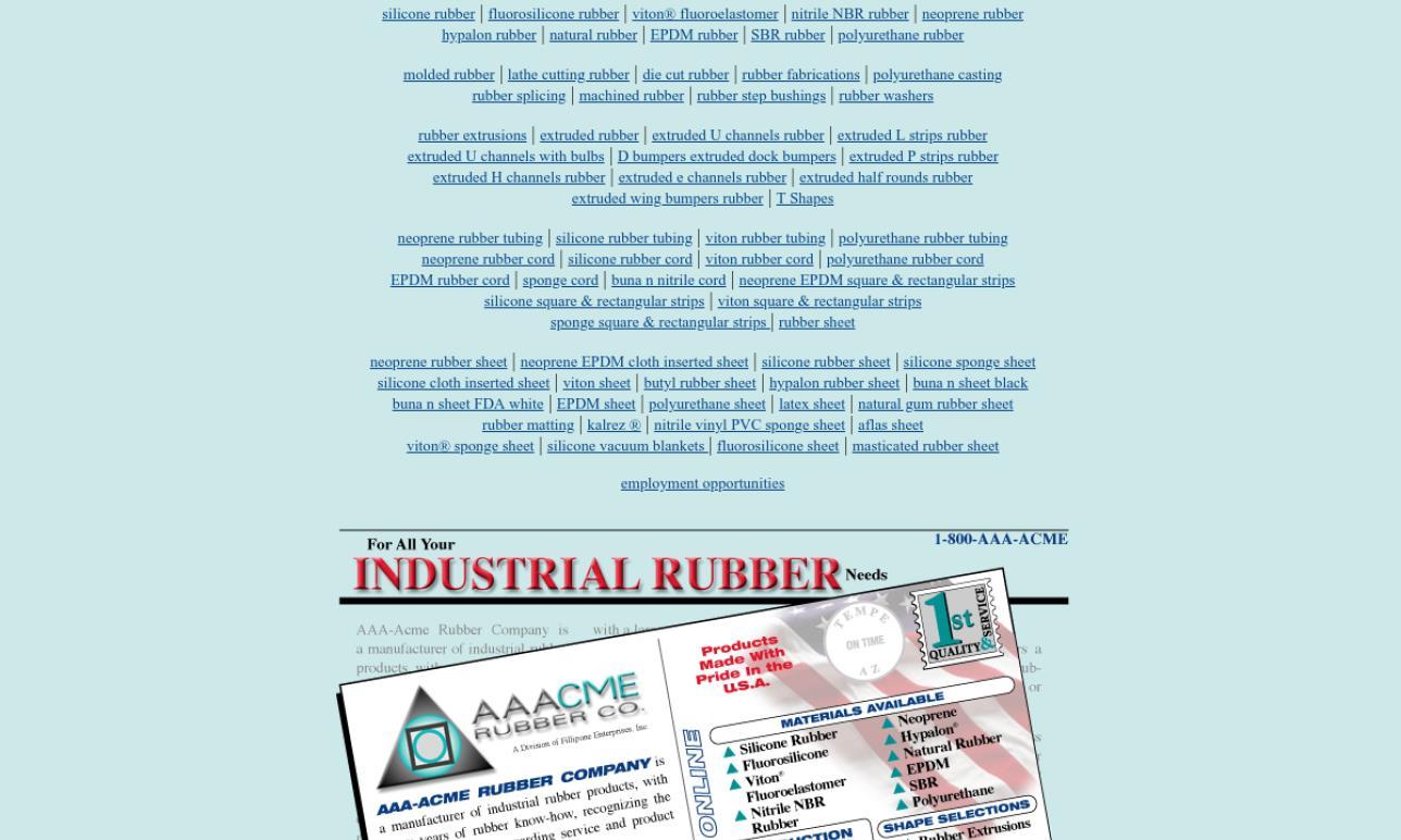 AAA Acme Rubber Co.