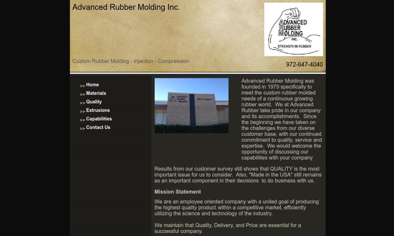 Advanced Rubber Molding Inc.