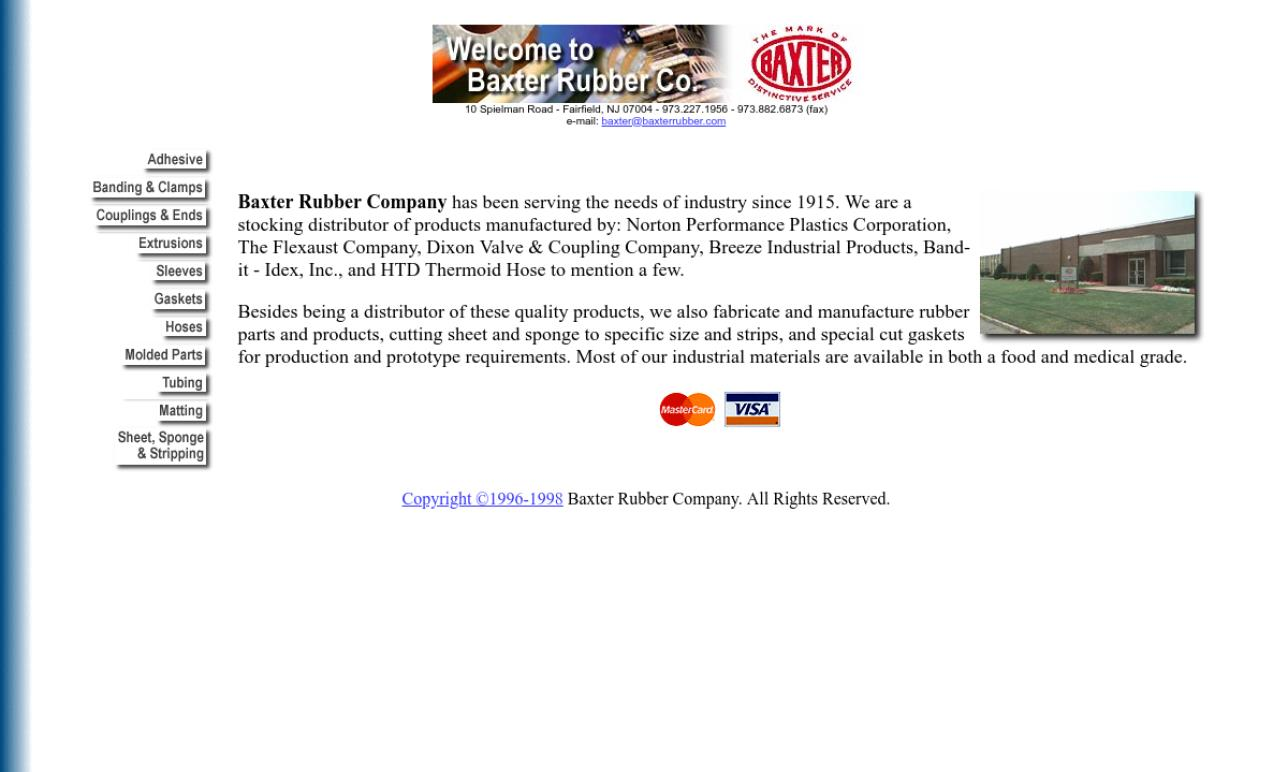 Baxter Rubber Company