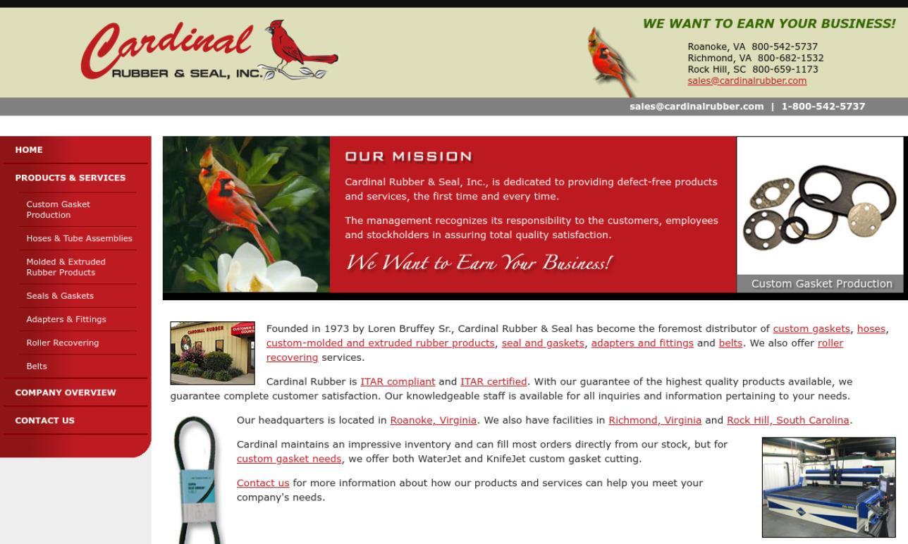 Cardinal Rubber & Seal