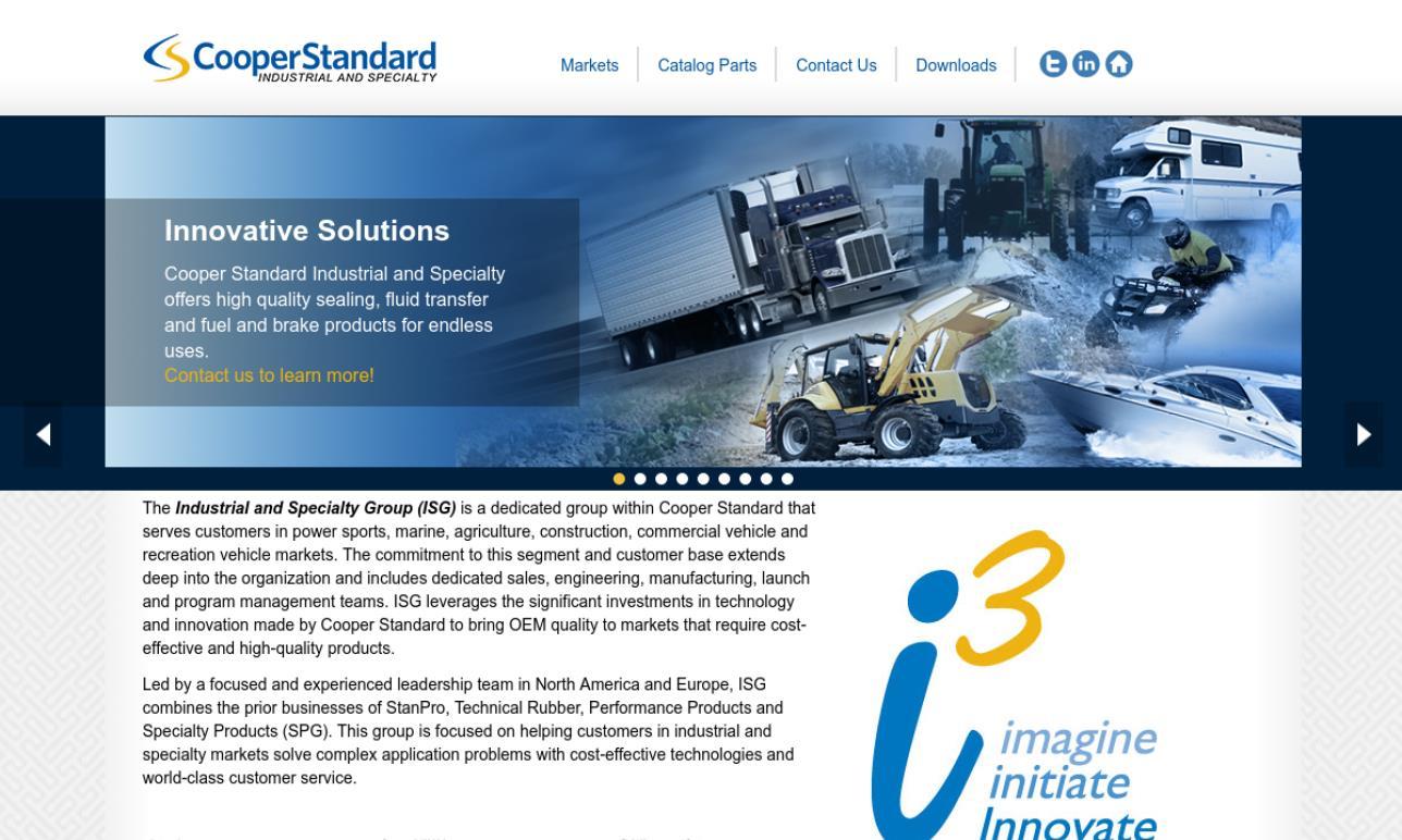 Cooper Standard ISG