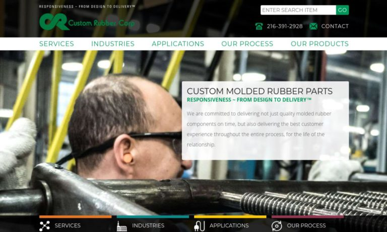 Custom Rubber Corporation
