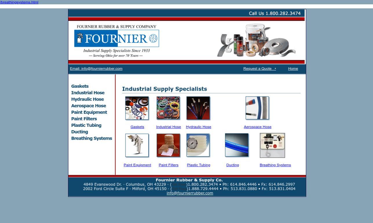 Fournier Rubber & Supply Company
