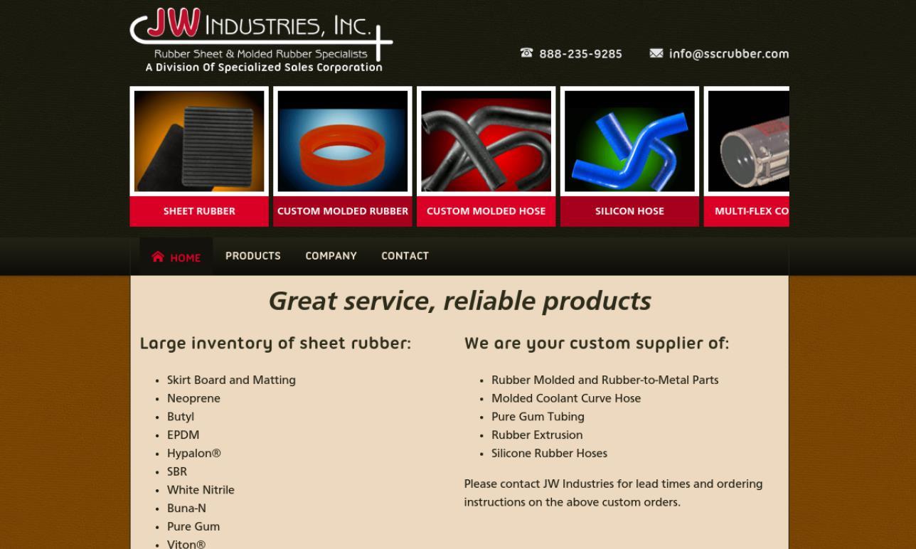 J.W. Industries, Inc.