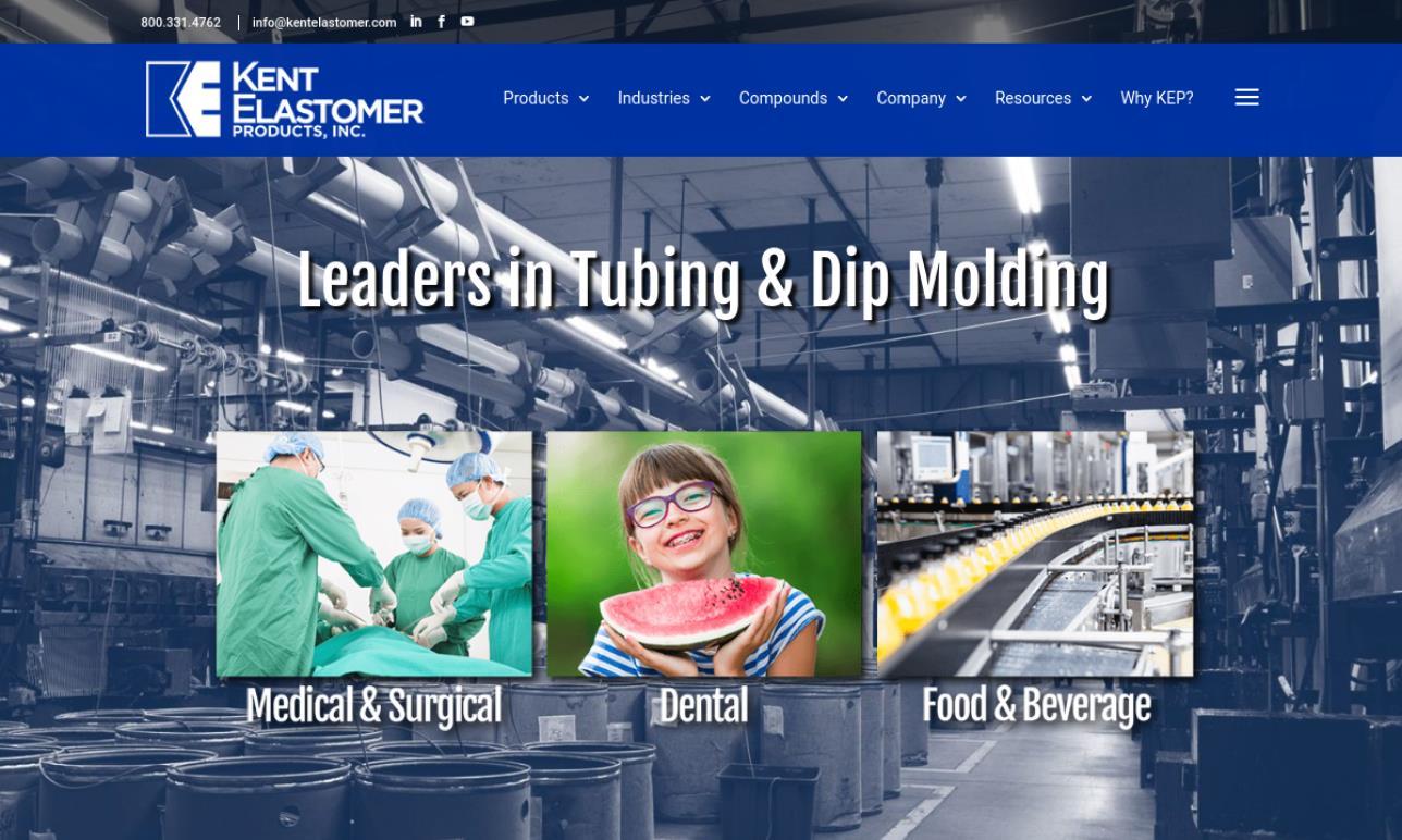 Kent Elastomer Products, Inc.