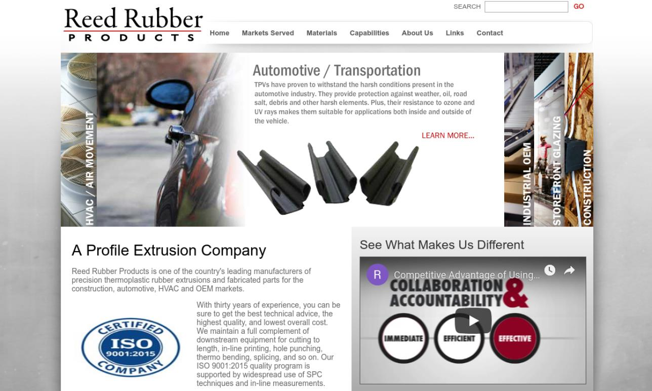 Reed Rubber® & Foam Products