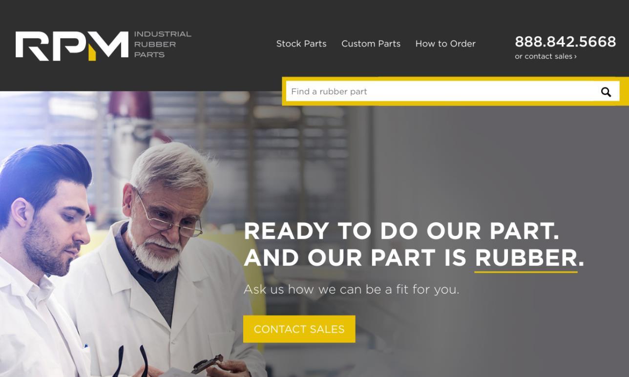 RPM Industrial Rubber Parts, Inc.