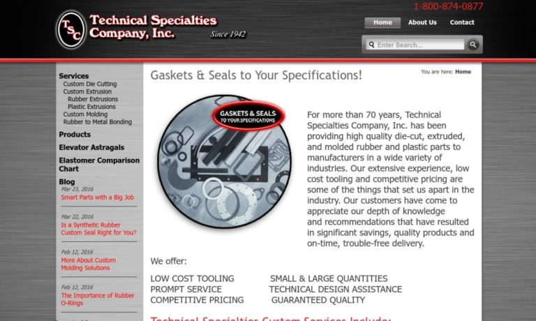 Technical Specialties Company, Inc.