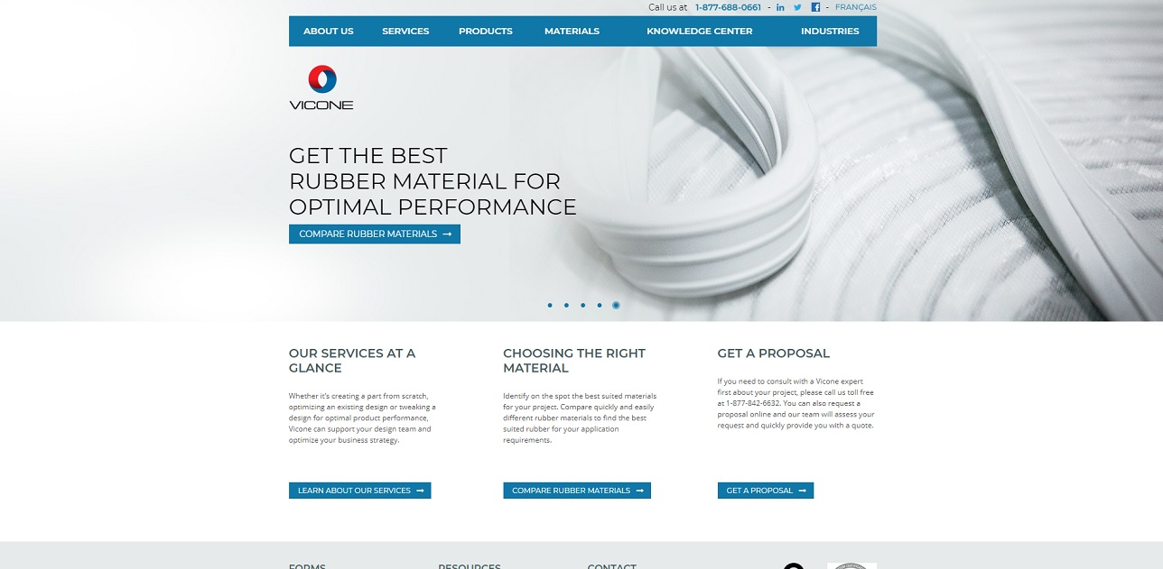 VICONE High Performance Rubber Inc.