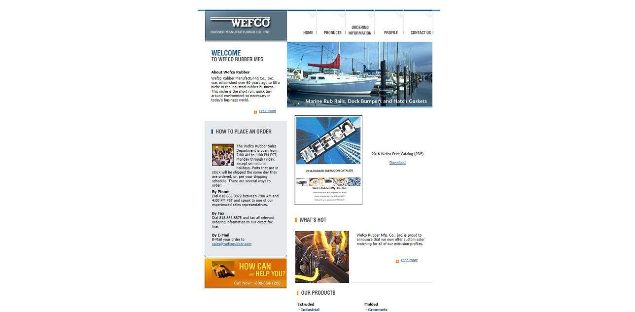 Wefco Rubber Mfg. Co., Inc.